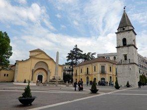 Szenerie aus der Innenstadt von Benevento