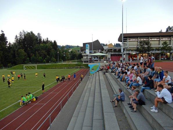 Verhältnismässig viele Zuschauer beim Derby in der siebten Spielklasse