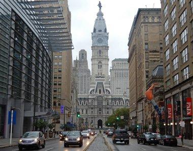 Blick auf die City Hall im Herzen der Stadt