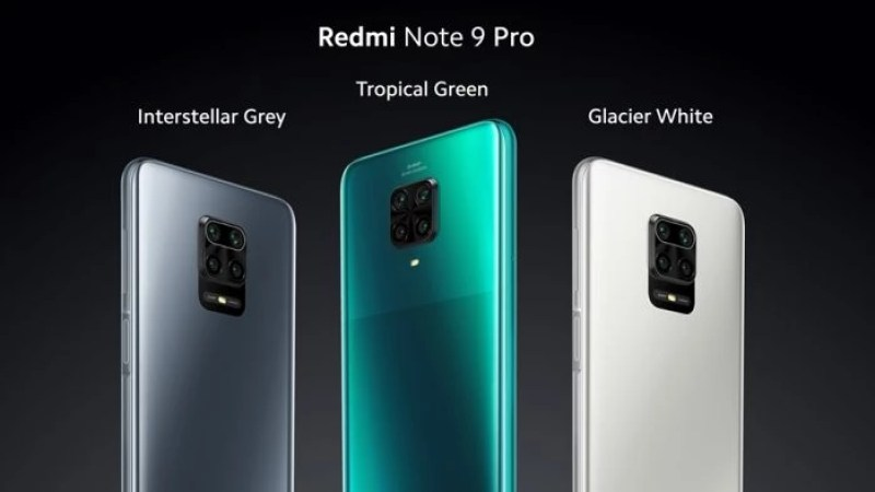 Redmi Note 9 Pro all colors