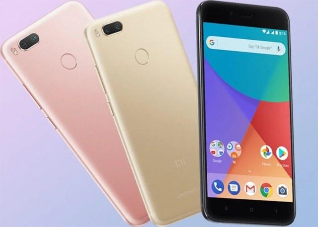 Xiaomi Mi A1, colores