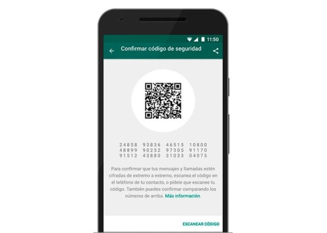 codigo seguridad whatsapp