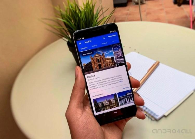 Google Flights, app para planificar viajes