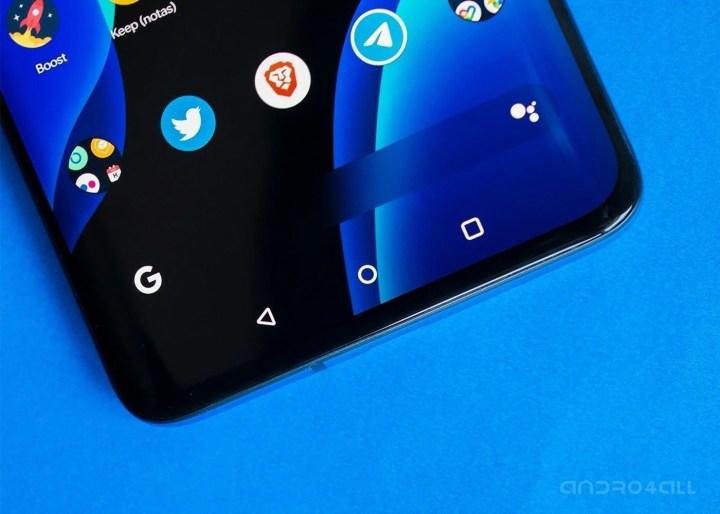 Barra de navegación de Android