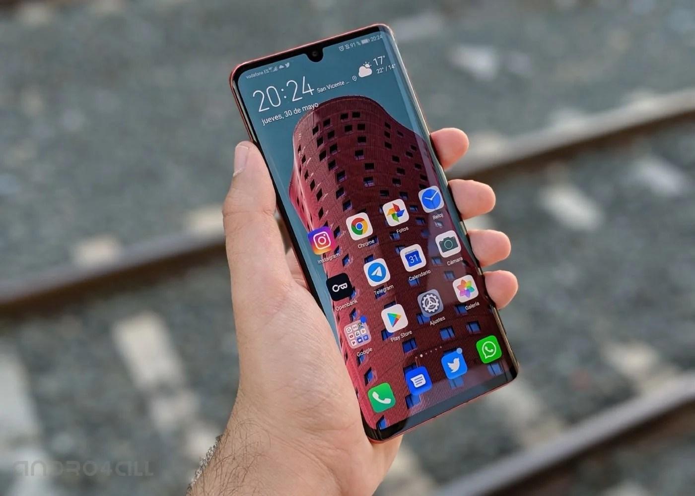 Huawei P30 Pro, pantalla y software