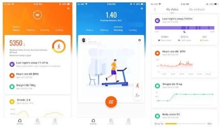 Mi Fit se actualiza: nuevos gráficos y más funciones