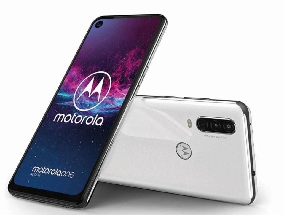 Motorola One Action, color blanco