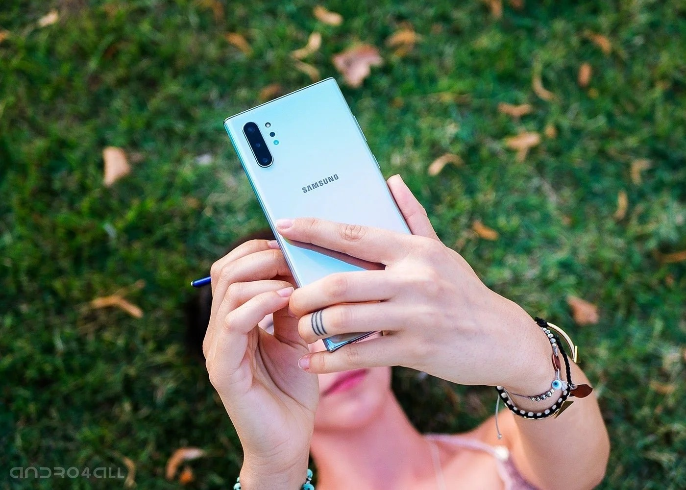 Samsung Galaxy Note10+, trasera con camara triple
