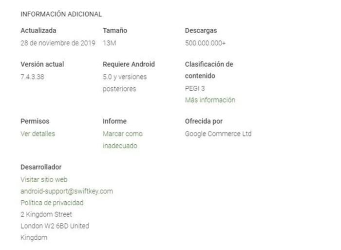 SwiftKey corrobora su importancia en Android: ¡500 millones de descargas!