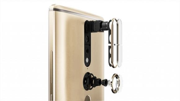 Lenovo Phab 2 Pro cámaras
