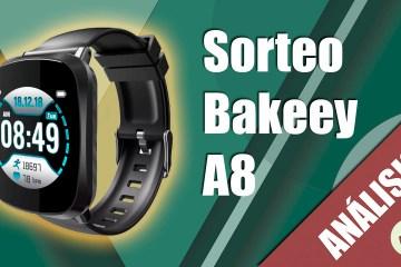 sorteo smartwatch bakeey a8