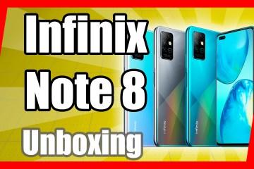 Infinix Note 8 UNBOXING