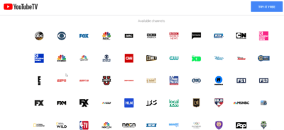 youtube tv promo code all Channels