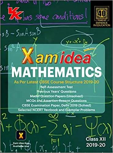 {Free} Xam Idea Class 12 Mathematics Pdf 1