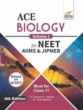ACE Biology  for NEET AIIMS & JIPMER Class 11 4th Edition 1