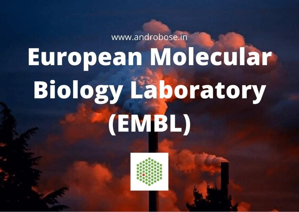 European Molecular Biology Laboratory (EMBL) 9