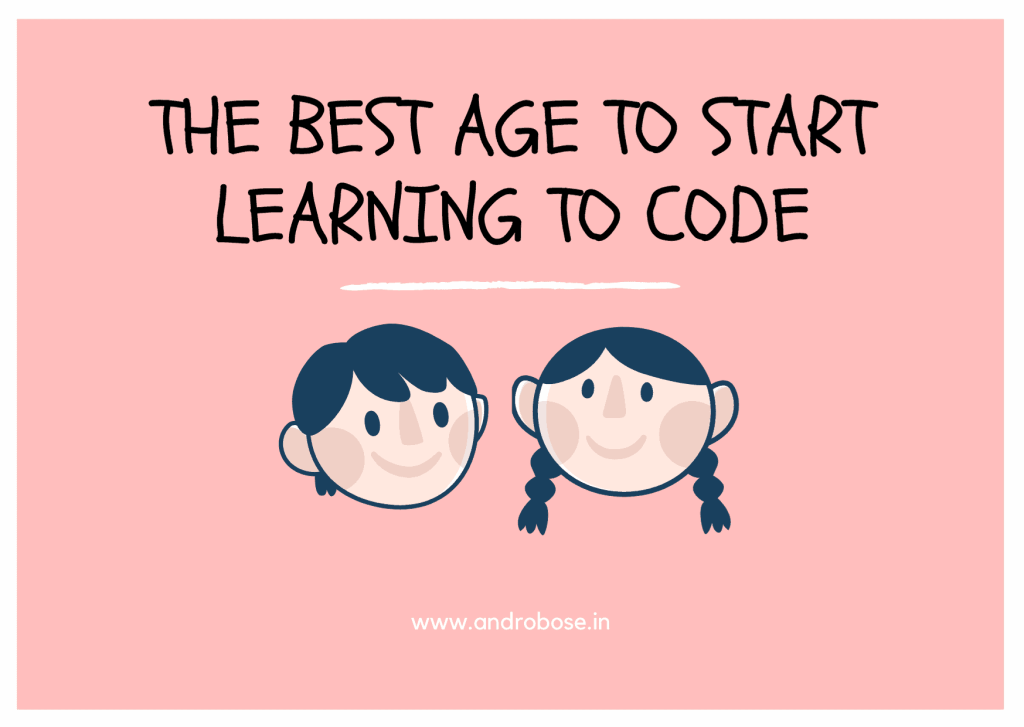 the best age to start learning to code