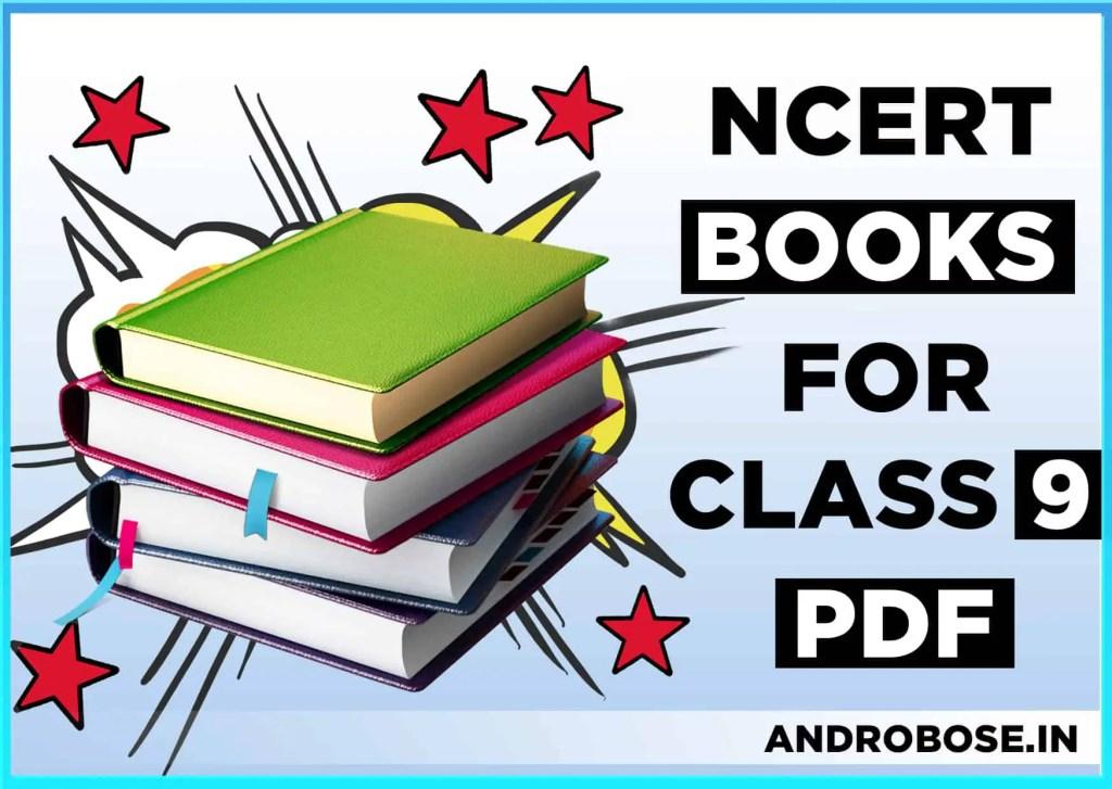 NCERT Books For Class 9 Pdf