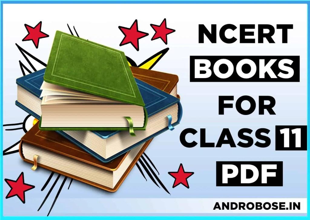 NCERT Books for Class 11 PDF