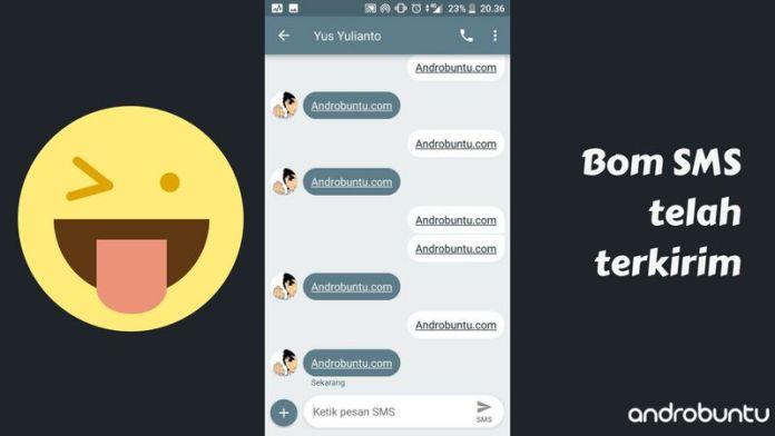 Cara Kirim Bom SMS Di Smartphone Android