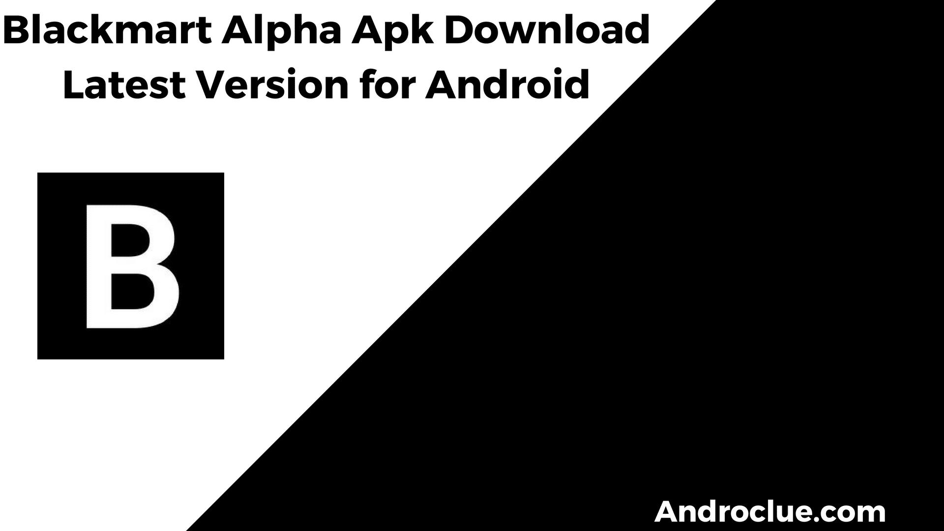 Android Black Market Apk Download | Unixpaint