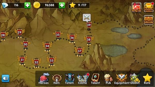 Defender Heroes Map