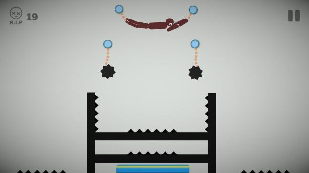 Stickman Rope Escape