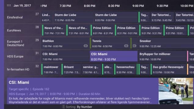 DVB Logic EPG App