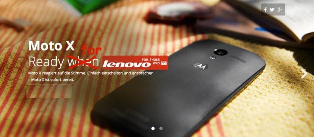 Google Lenovo Verkauf