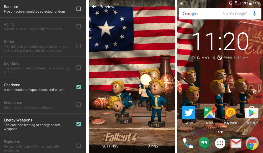 Fallout® 4 Live Wallpaper 2