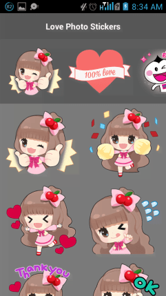 Love Stickers 2
