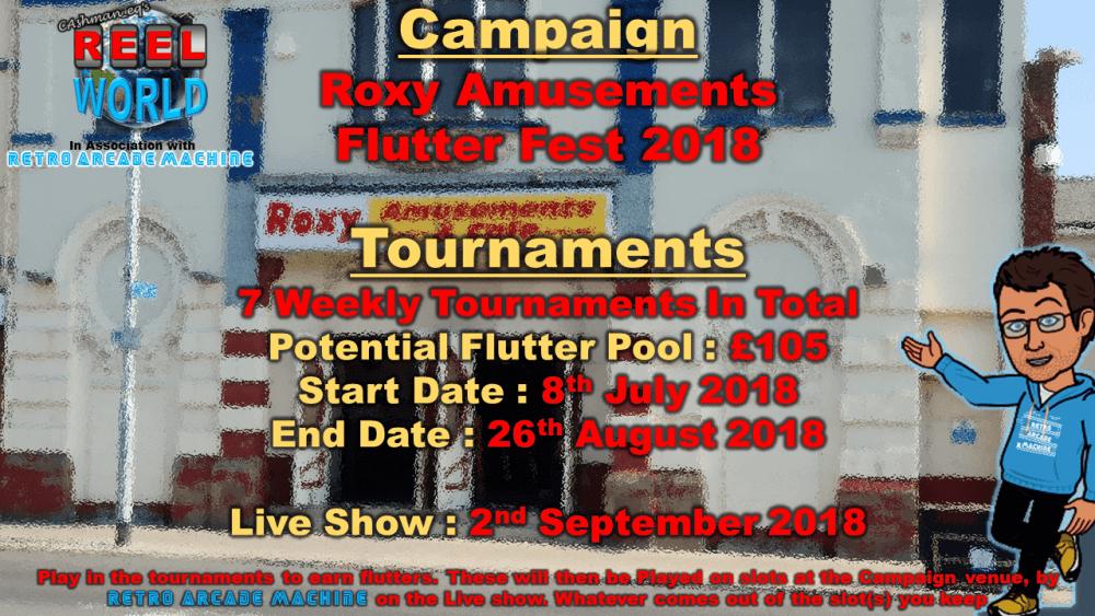 Roxy Amusements Flutter Fest