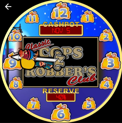 Cops N Robbers Club Fruit Machine Smart Watch Face