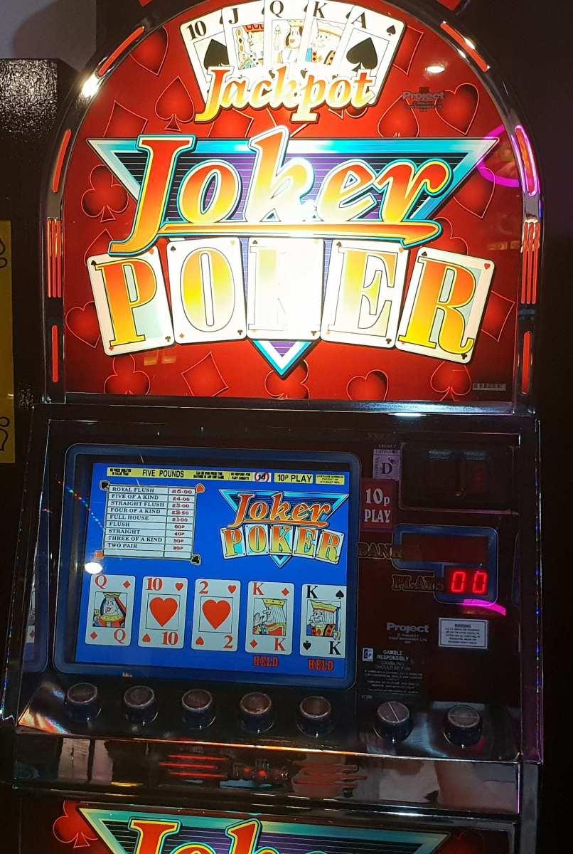 Onetec Amusments Jackpot Joker Poker