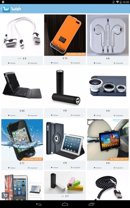 And Ebay Amazon Wish App