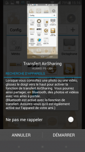 Ascend P6 - Air Sharing