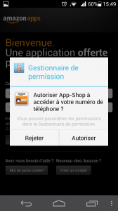 Ascend P6 - AppStore Amazon