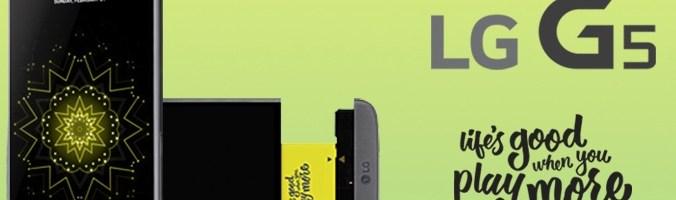 Le LG G5 sera disponible pour les précommandes à partir du 1er avril