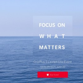 OnePlus 5 : lancement