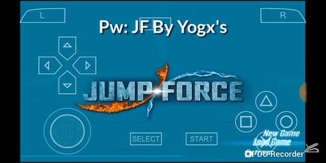 Jump Force PPSSPP Android