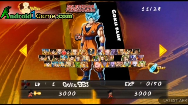 Dragon Ball FighterZ APK Characters