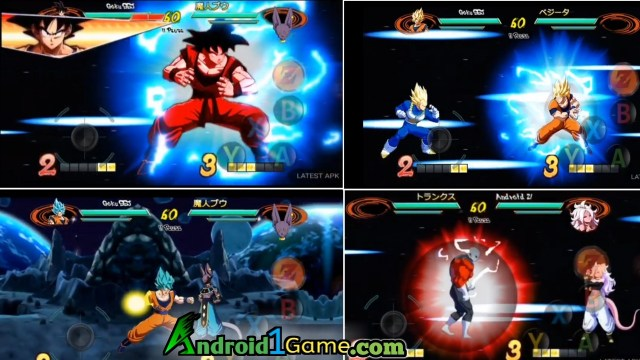 Dragon ball Fighter Z Android gameplay