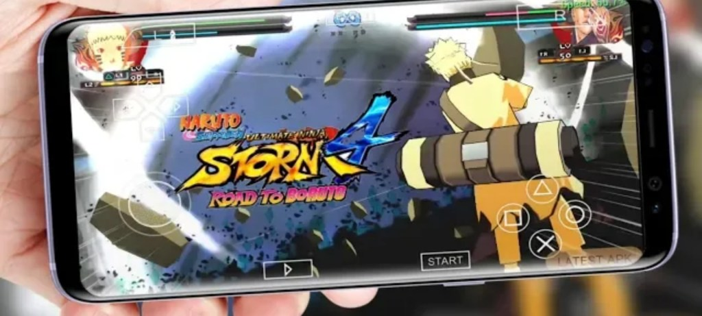 Naruto Ultimate Ninja Storm 4 For Android PPSSPP Download