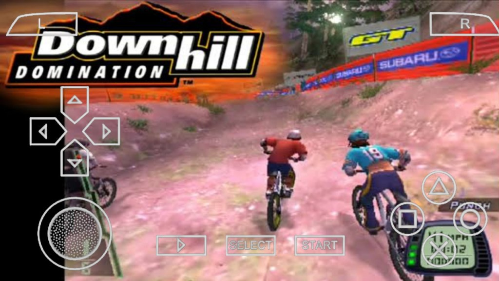Downhill Domination PPSSPP ISO For Android Download