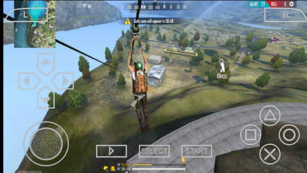 Free Fire PPSSPP ISO Zip File Download
