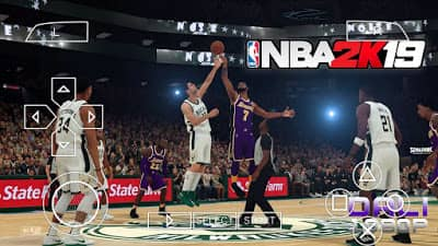 NBA 2K19 PPSSPP ISO Zip File Highly Compressed
