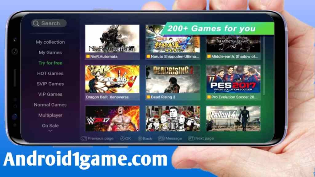 Gloud Games Mod APK Free Svip (Unlimited Coins/Time) Android/iOS