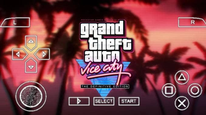 GTA Vice City PPSSPP Download Zip File