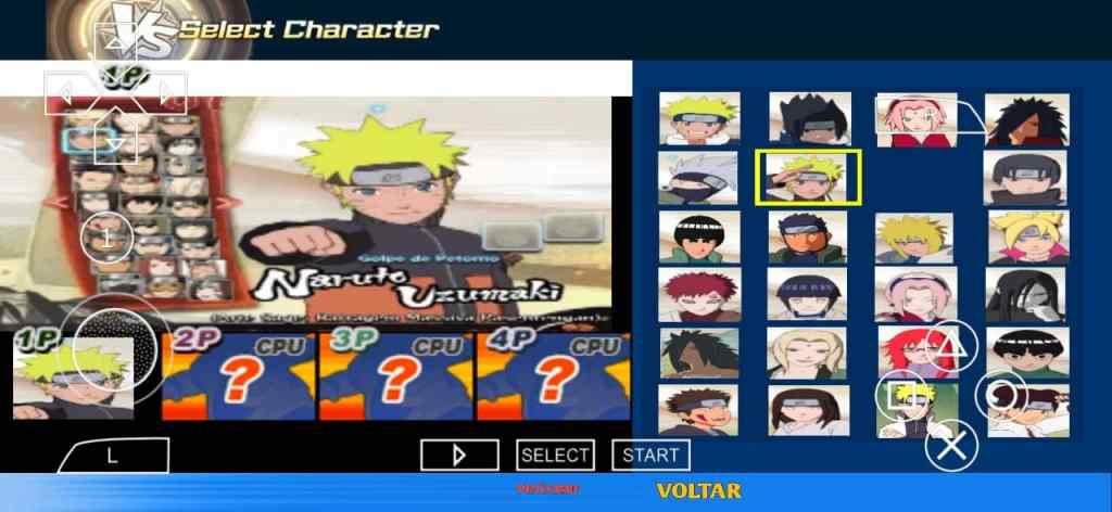 New Naruto PPSSPP Game for Android 2021