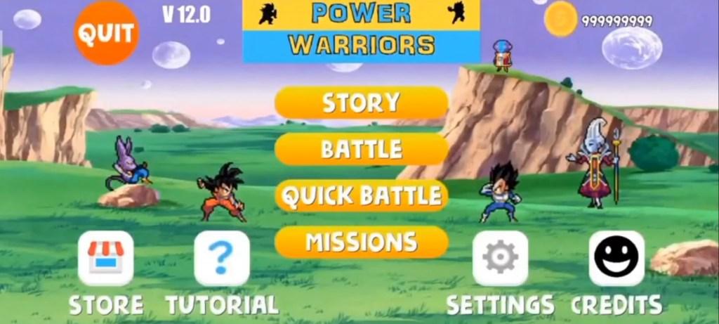 Power Warriors 12.0 Apk Download Mediafire Link